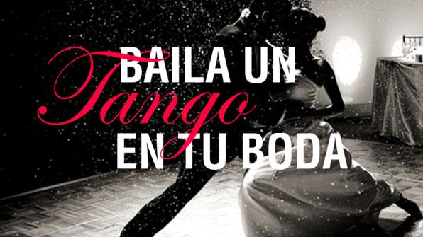 tango boda coreografia