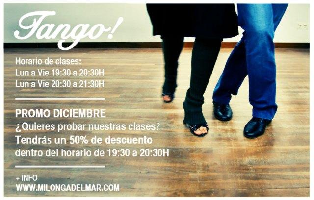 Horarios, precios y promociones de clases de tango
