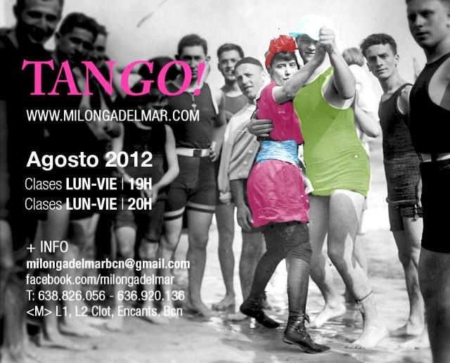 Milonga del mar escuela de tango