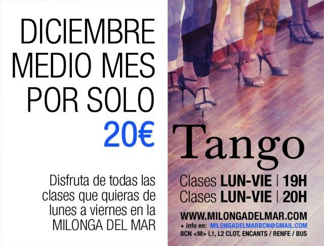 clases de tango diciembre