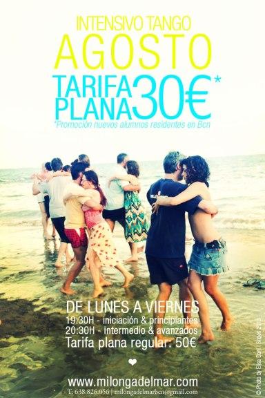 clases tango agosto barcelona