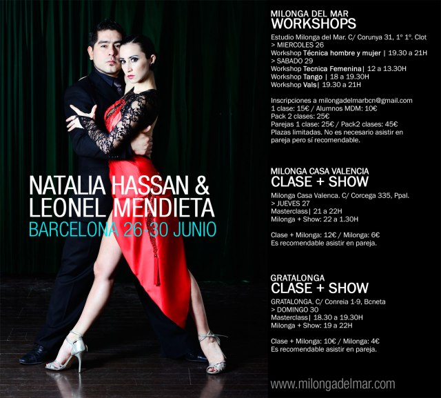 workshop tango barcelona