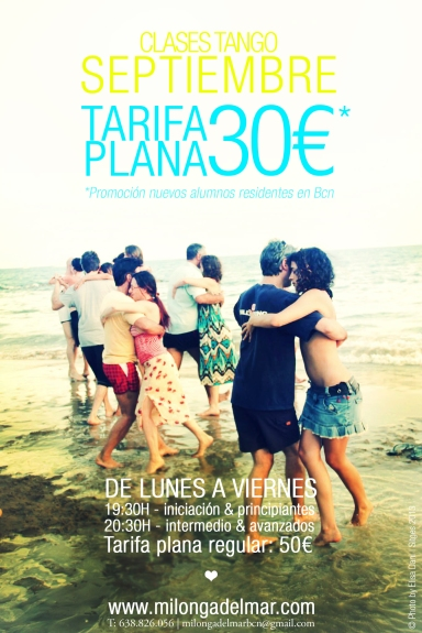 clases tango septiembre