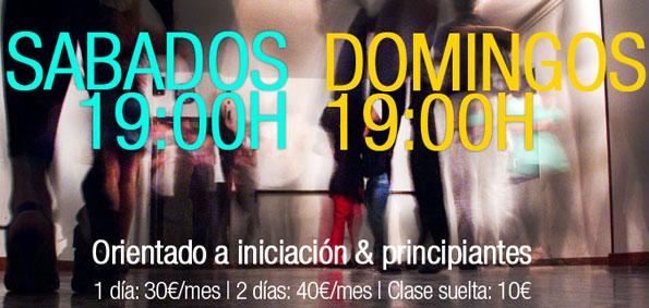 clases tango sabado y domingo barcelona