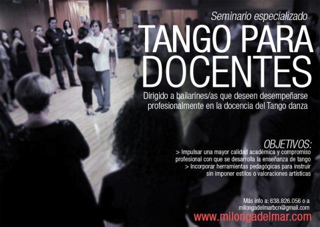 tango para docentes