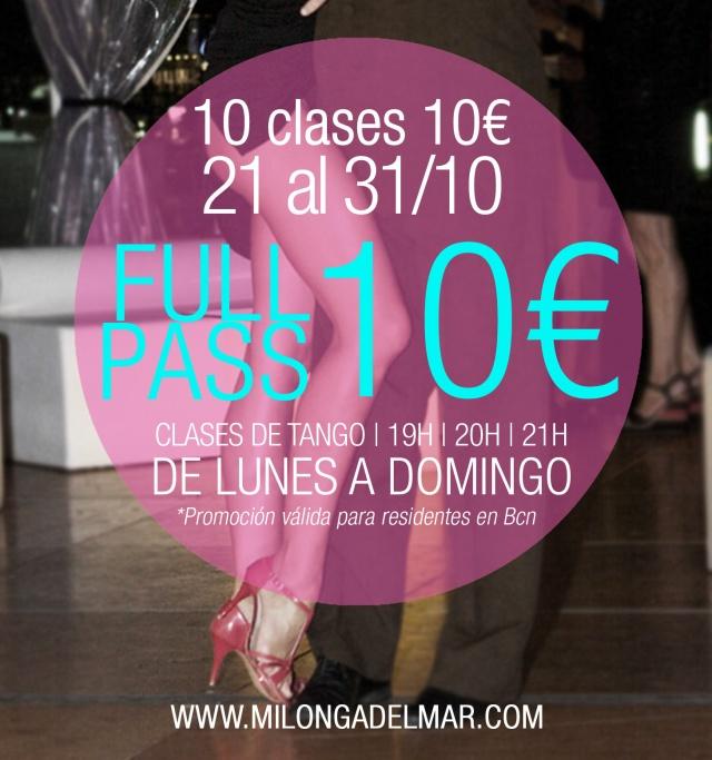 clases tango barcelona gratis