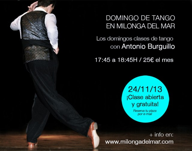 clase tango milonga del mar