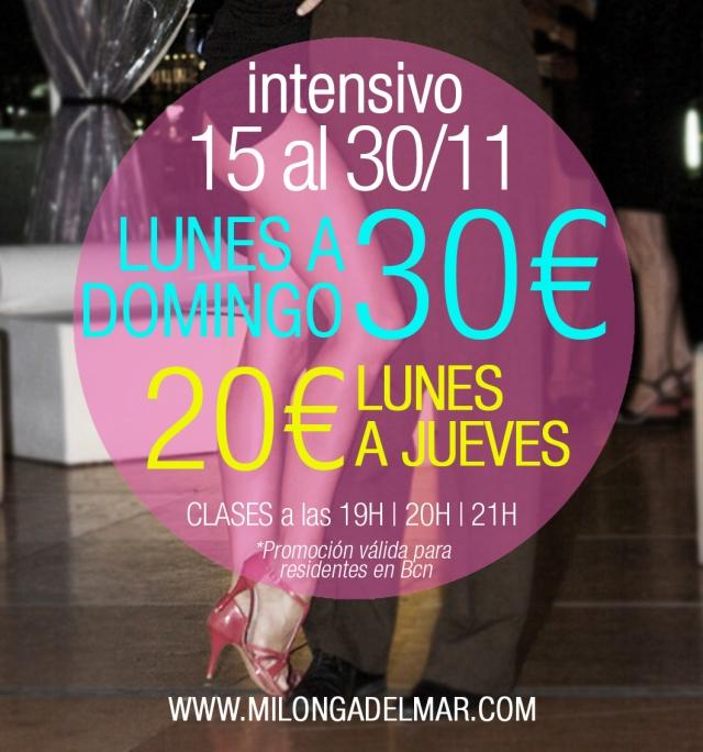 intensivo tango barcelona