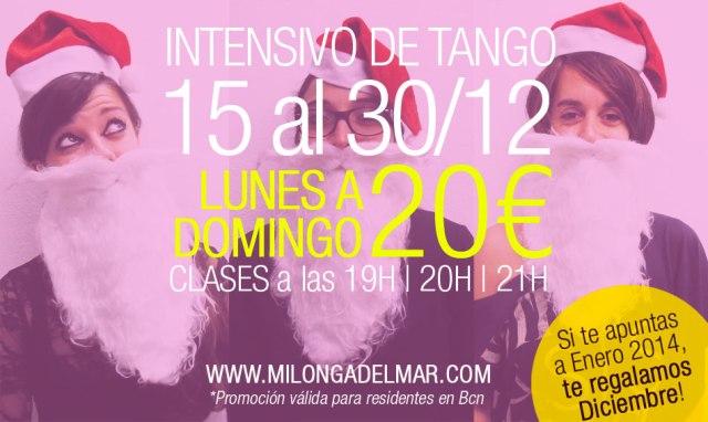 clases tango diciembre barcelona
