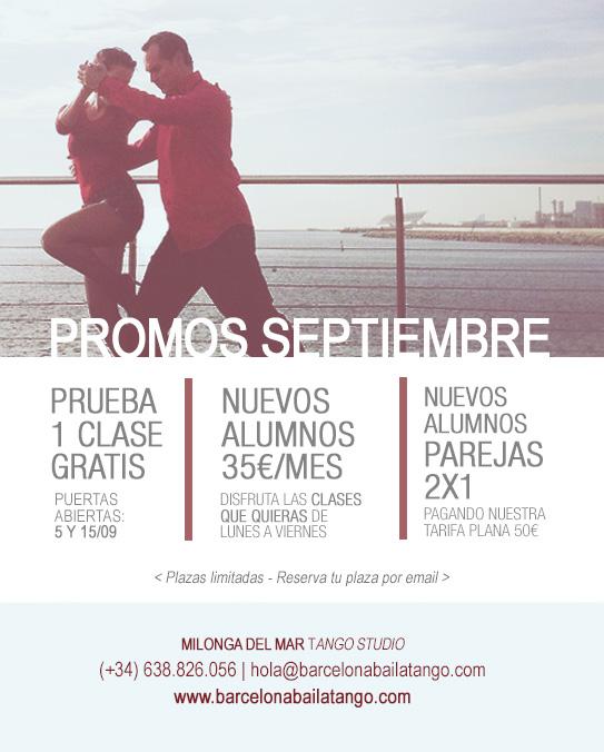 clases tango barcelona septiembre 2017