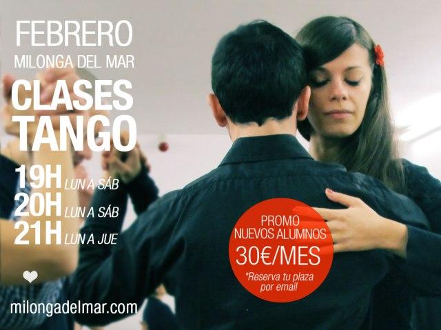 clases tango barcelona febrero