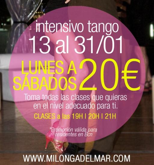 intensivo tango enero barcelona