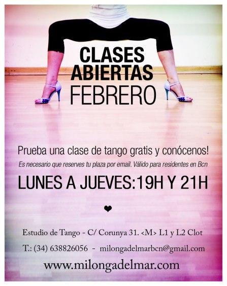 clase tango gratis