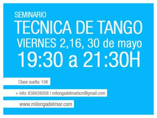 tecnica tango clases barcelona