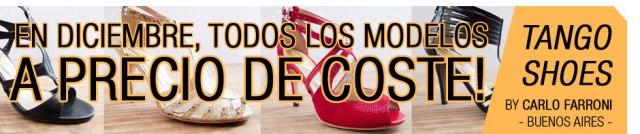zapatos de tango - oferta navidad