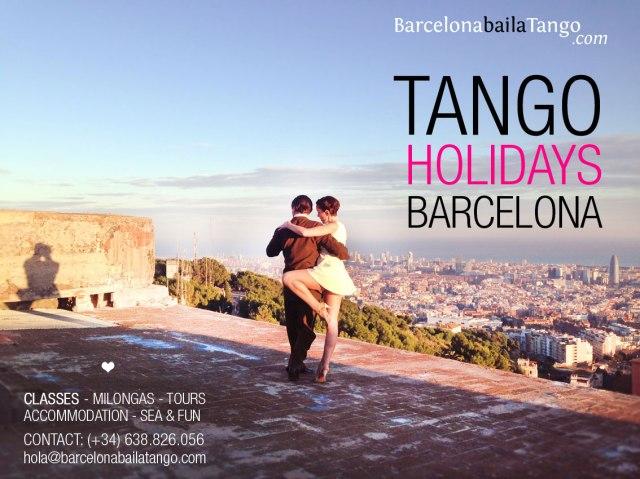 tango holiday barcelona