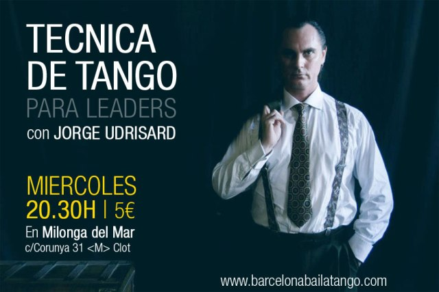 TECNICA tango leader jorge udrisard