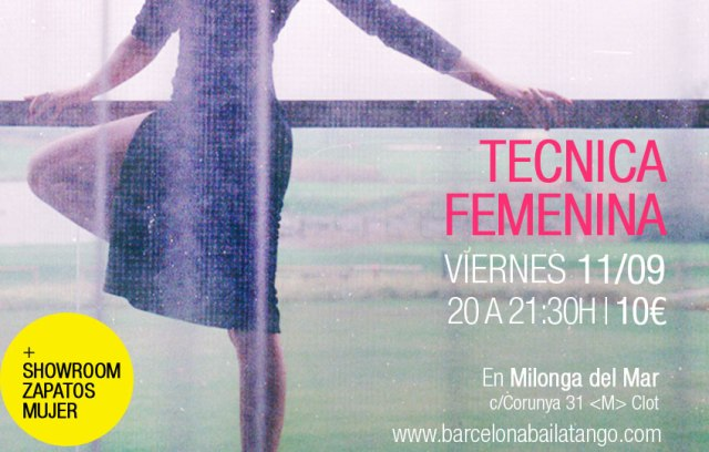 tecnica mujer tango