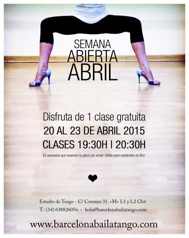 clase gratis tango