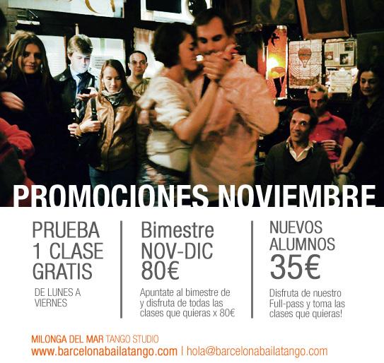 clase gratis tango barcelona y promociones