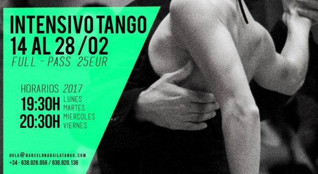intensivo tango barcelona, milonga del mar, tango barcelona
