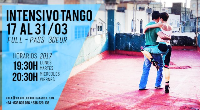 Clases tango barcelona milonga del mar paula rey jorge udrisard