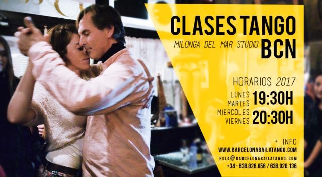 CLASES TANGO BARCELONA, MILONGA DEL MAR, PAULA REY JORGE UDRISARD