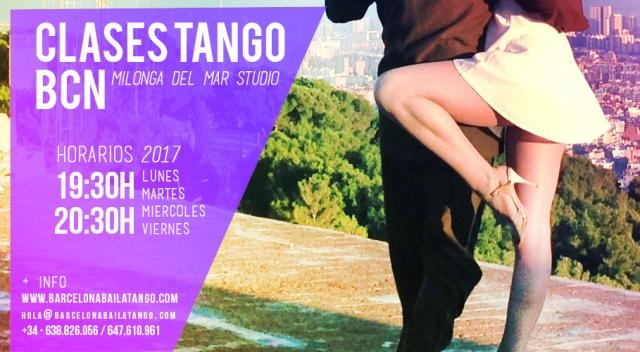 clases tango barcelona, milonga del mar, jorge udrisard y paula rey