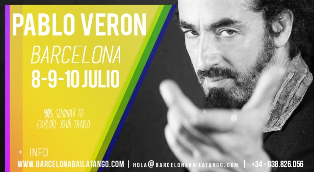 pablo veron workshop barcelona july 2017