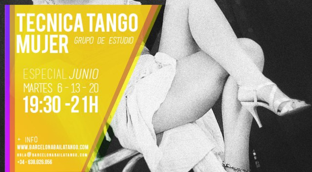 tecnica tango mujer femenina barcelona