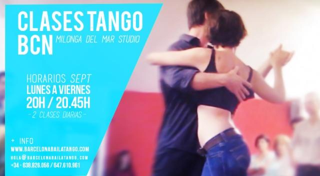 clases tango barcelona - tango school barcelona - milonga del mar