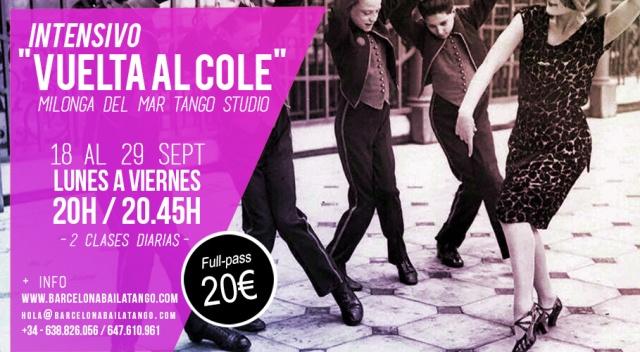 clases tango barcelona milonga del mar