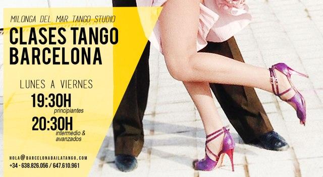 clases tango barcelona abril 2018 milonga del mar