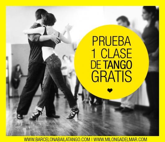clase de tango gratis en barcelona