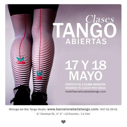 Tango en Barcelona. clase gratis tango en barcelona