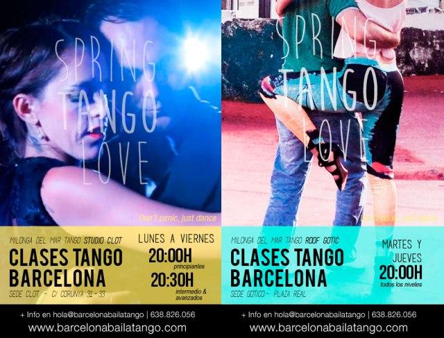clases de tango en barcelona clot gotico