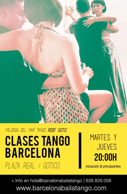 clases de tango barcelona barri gotico centro milonga del mar
