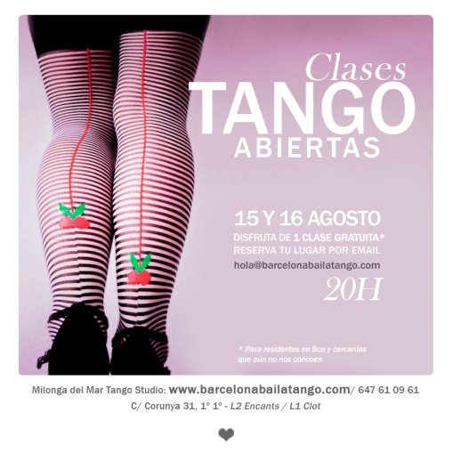 clase gratis tango barcelona clases tango barcelona milonga del mar jorge udrisard paula rey