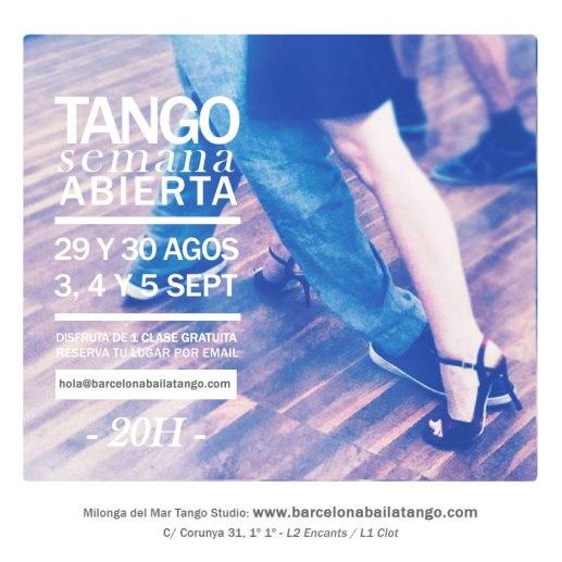 clase gratis tango barcelona escuela tango barcelona milonga del mar jorge udrisard paula rey