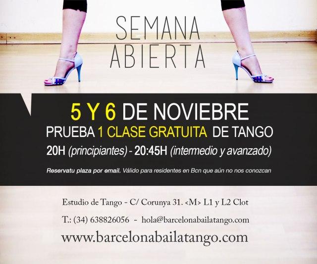 clase gratis tango barcelona milonga del mar tango en barcelona