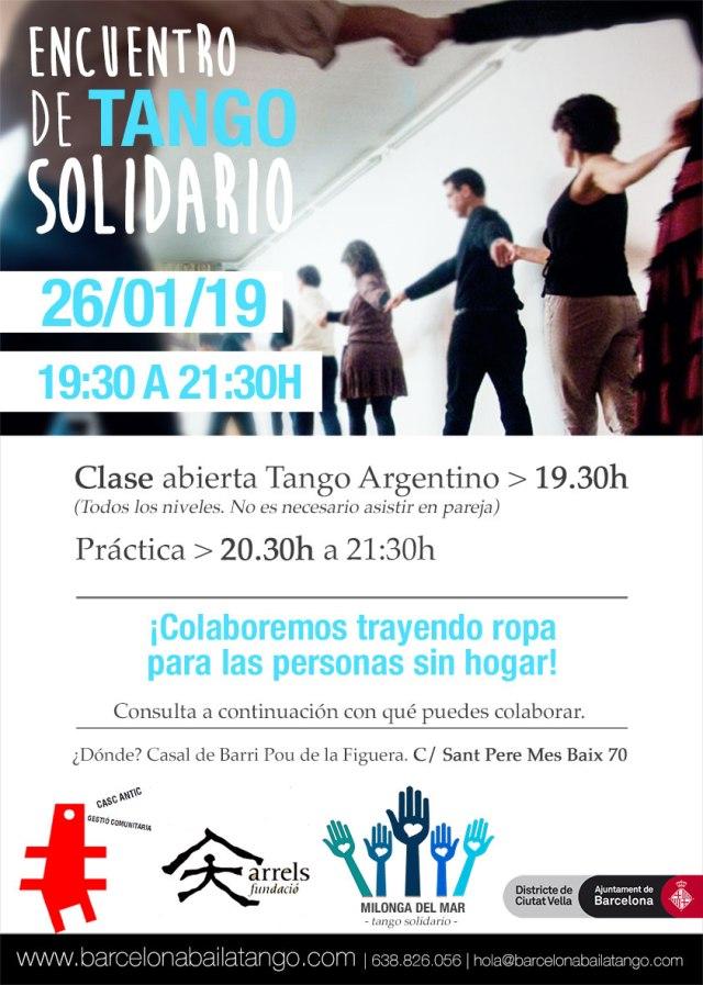 tango barcelona, practica tango solidaria