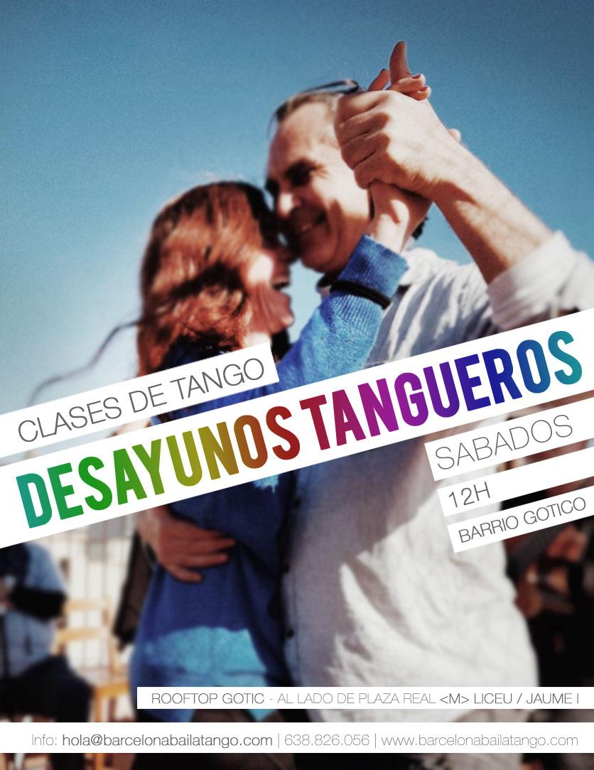 clases de tango por la mañana en barcelona centro Desayunos tangueros y sol