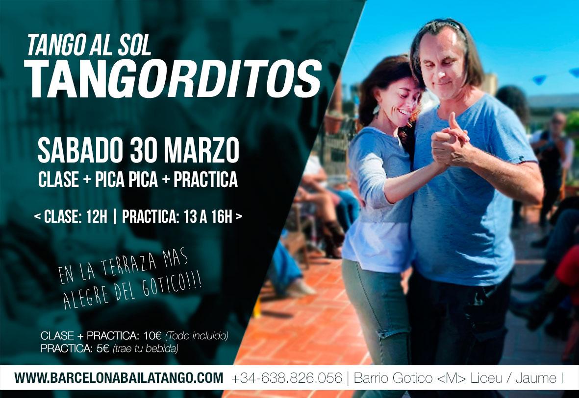 clase de tango barcelona barrio gotico practica tango aire libre