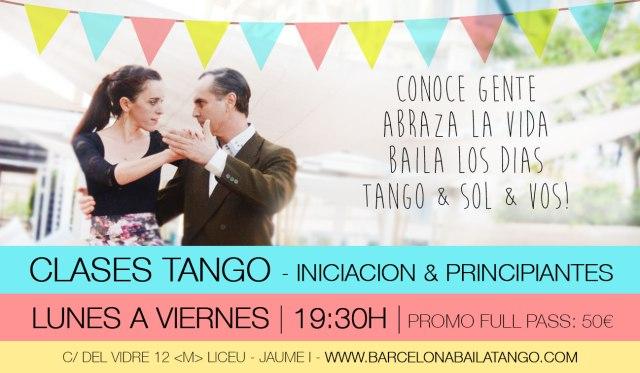 CLASES DE TANGO BARCELONA INICIACION Y PRINCIPIANTES BARRIO GOTICO