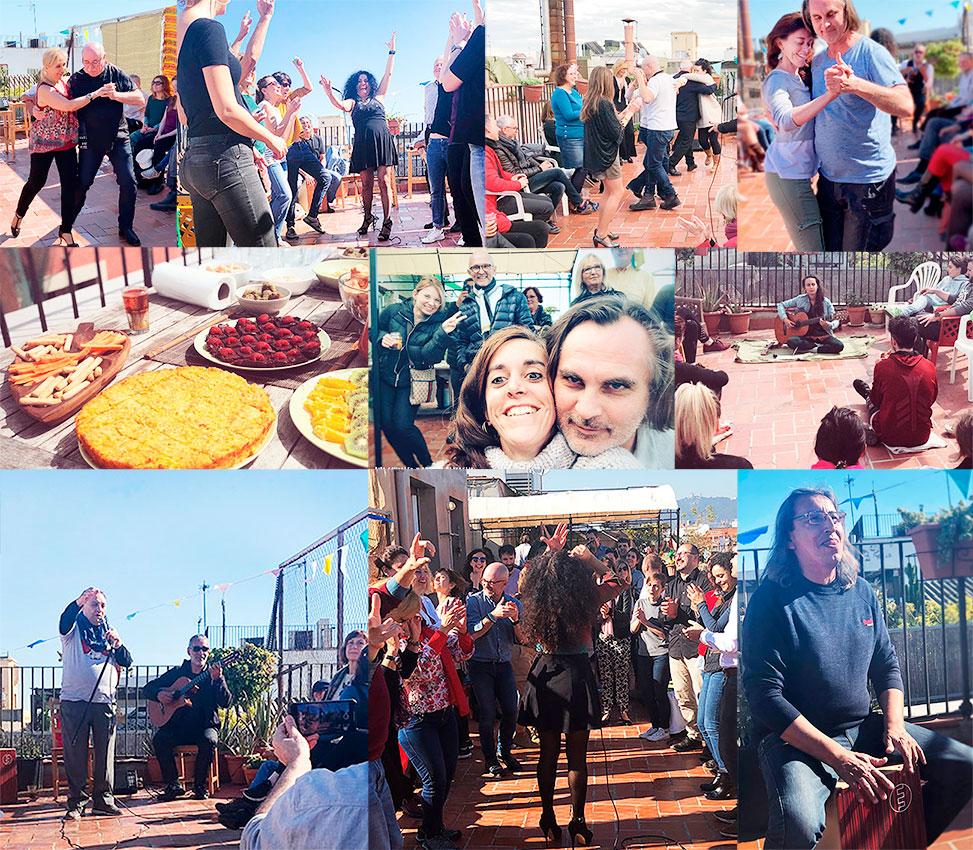 happy events barcelona rooftop