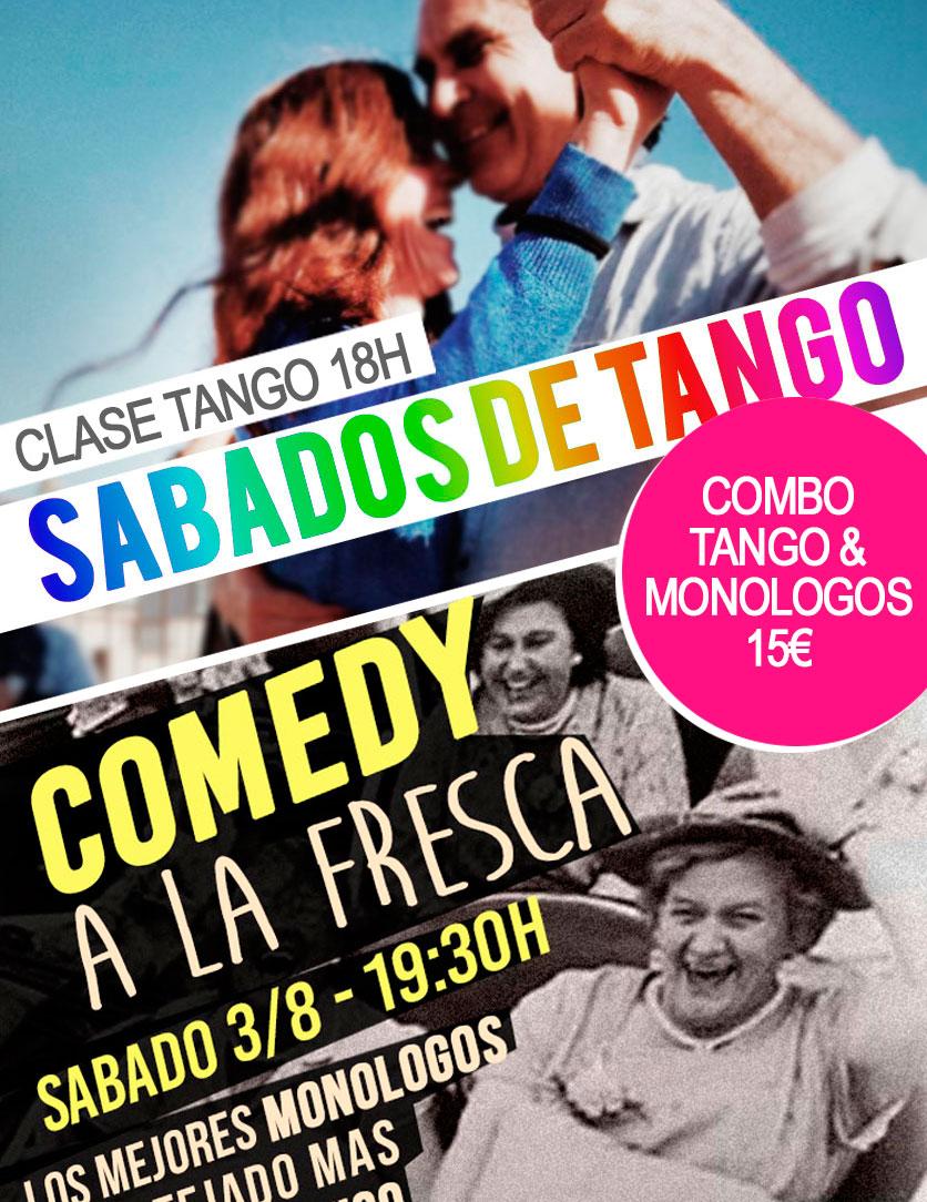 CLASES DE TANGO BARCELONA SABADOS