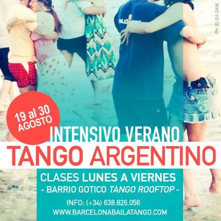clases tango en barcelona intensivo agosto