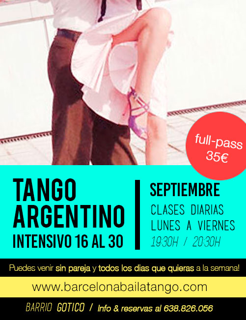 clases tango argentino en barcelona