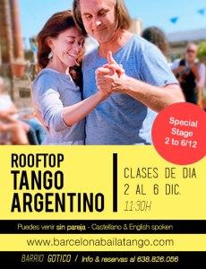 rooftop tango barcelona