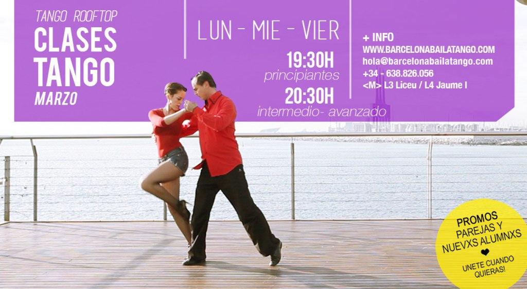 clases de tango en barcelona marzo 2020